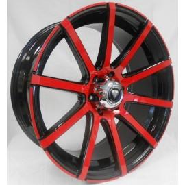 0039 - 22''X 9.5 RED & BLACK