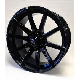 0039 - 22''X 9.5 FULL BLACK