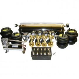 1/2 Up - 3/8 Down FBSS Kit - 1 compressor