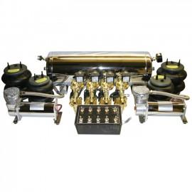 1/2 Up - 3/8 Down FBSS Kit - 2 compressors