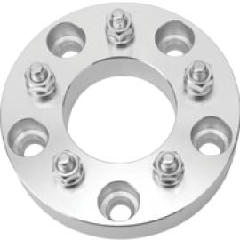 ADAPTERS  7'' DIA  1.25'' H  108M/ CB  5X5.5 TO 5X5 1/2'' STUDS & LUG