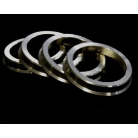 HUB RING 4 PCS SET OD: 72.62,  ID: 56.15  BC 100MM