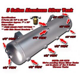 5 gals. Aluminium Tank + 9 Multi Ports