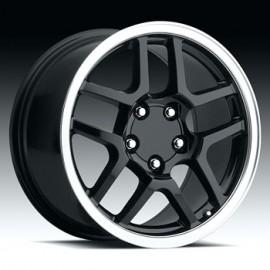 Corvette C5 Z06 17x8.5 Black
