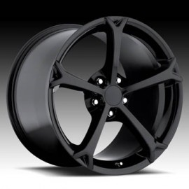 Corvette C6 Grandsport 17x8.5 Black