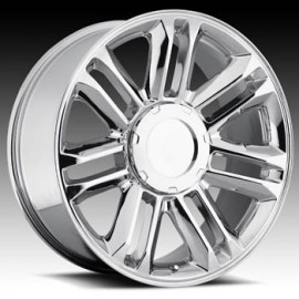 Escalade Platinum Chrome 22X9