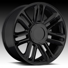Escalade Platinum Gloss Black 22X9