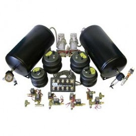 3/8 Front & Back Fast Bag Kit w/ 2 compressors