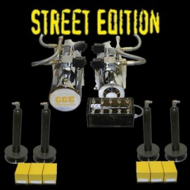 2 Pumps Front & Back Kit - STREET
